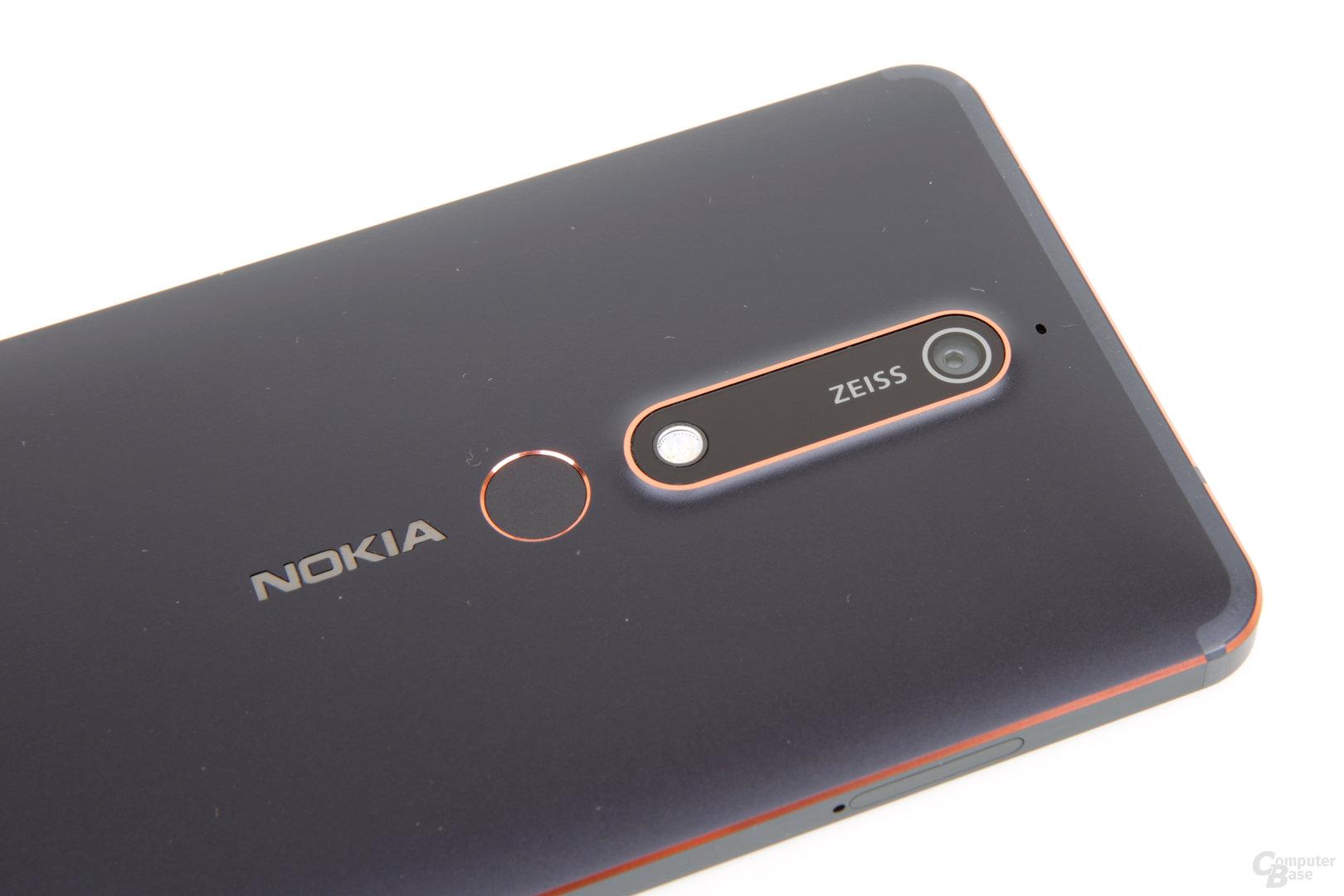 Elegant integriertes Kameramodul bei Nokia