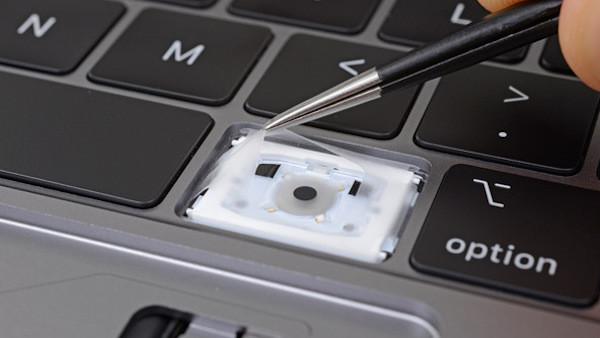 MacBook Pro 2018: Apples neue Tastatur ist doch gegen Krümel gesichert