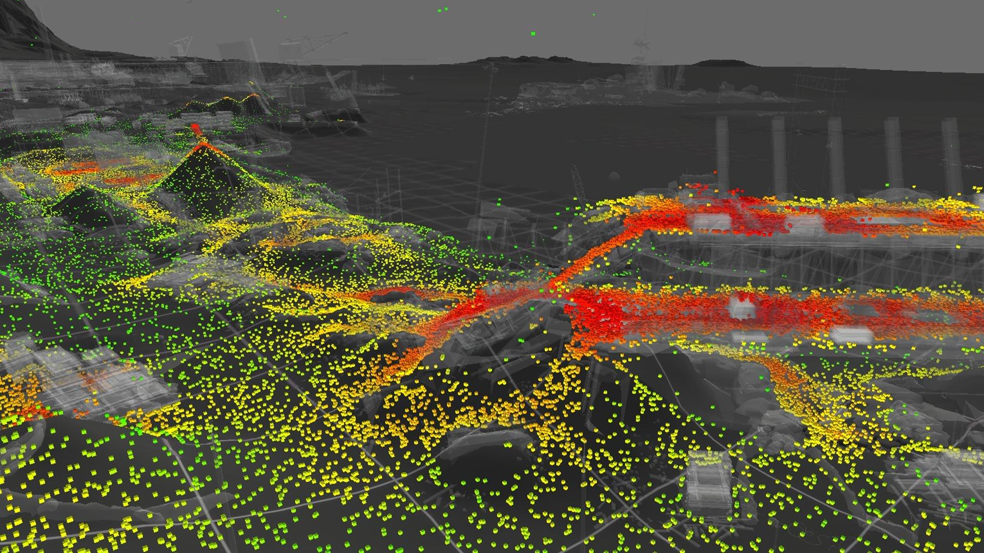 Heatmap Arctic Fjord