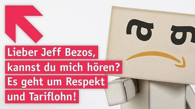 Verdi streikt zum Prime Day bei Amazon