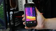 Cat S61 im Test: Dieses Smartphone misst bis 400 °C, Längen und Luftgüte
