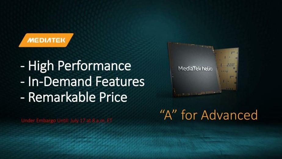MediaTek Helio A22: Mittelklasse-SoC mit WLAN-ac und Bluetooth 5.0