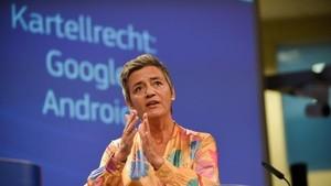 Google: EU-Kommission verhängt 4,34 Milliarden Euro Geldbuße