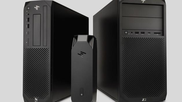 HP Z2 Workstations G4: Upgrade mit Xeon E und C246 von 2,7 Liter bis Mini-Tower
