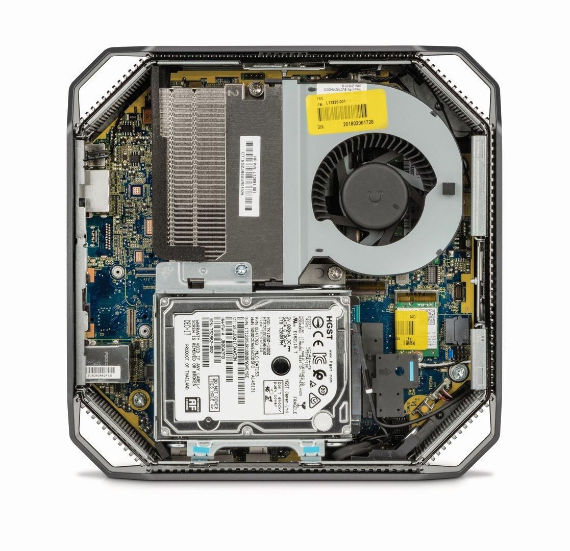 Das Innenleben des HP Z2 Mini G4