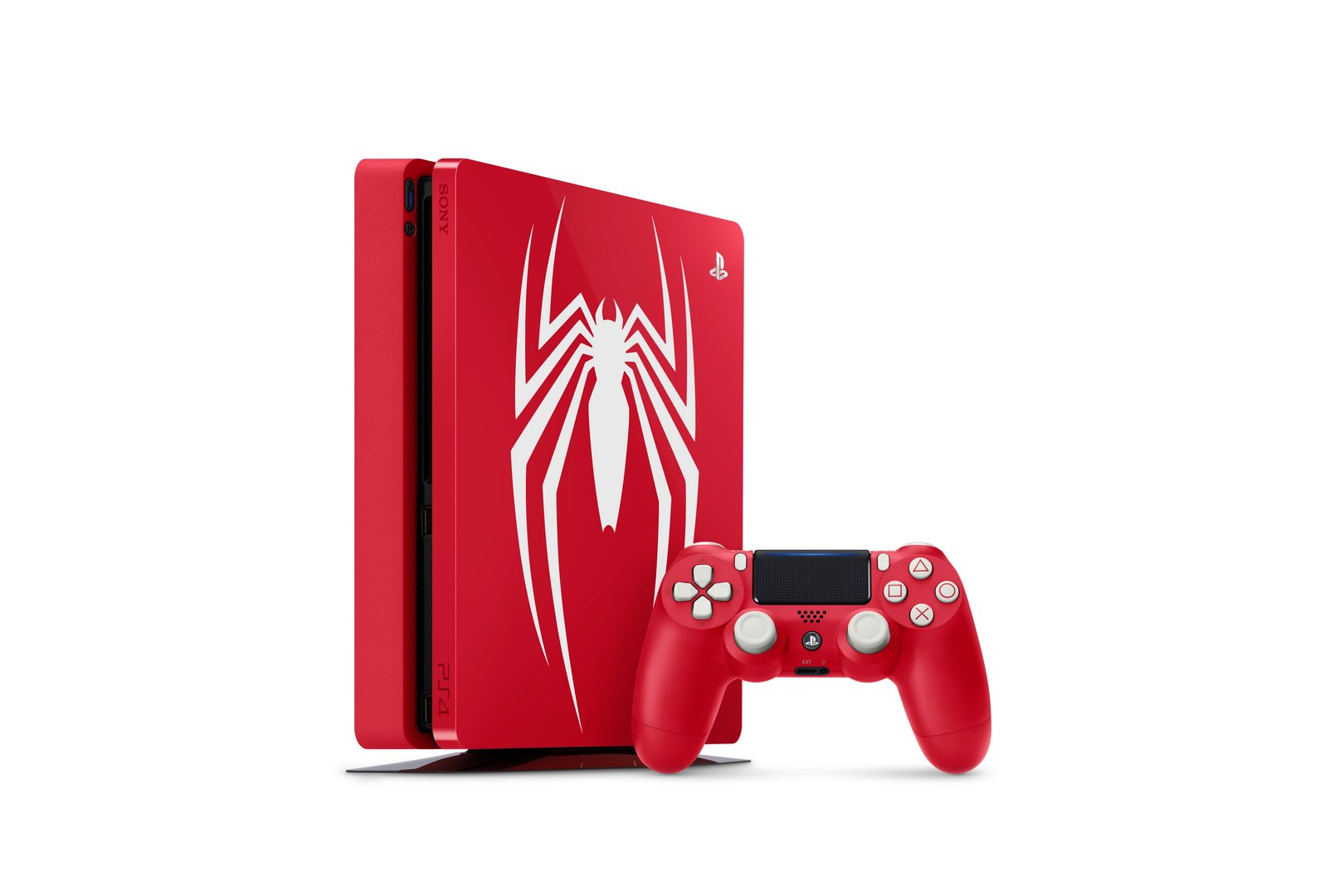 PlayStation 4 Slim im Spider-Man-Design