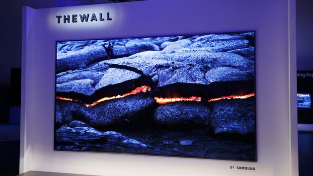 """MicroLED-Fernseher: Samsung will """"The Wall"""" 2019 für Consumer anbieten"""