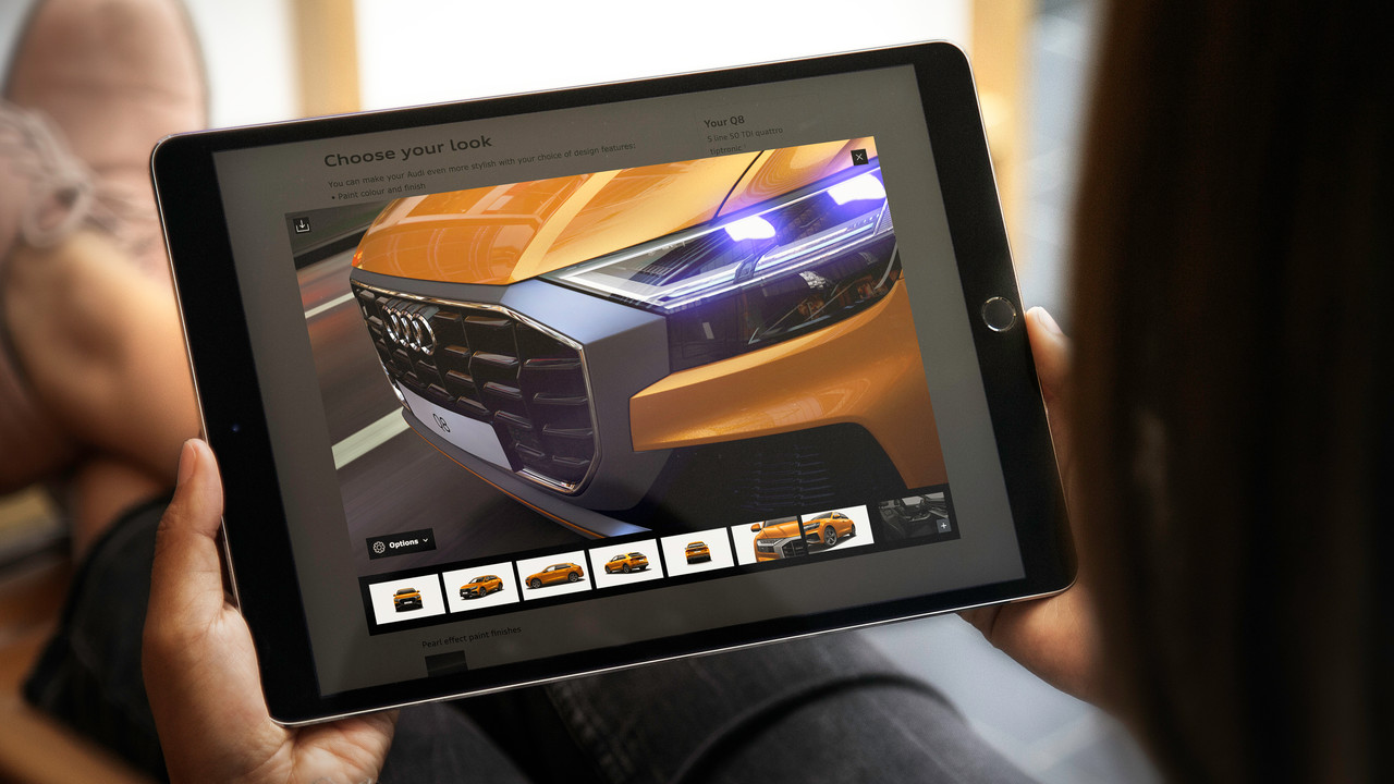Audi: Neuer 3D-Konfigurator rendert Autos in Echtzeit