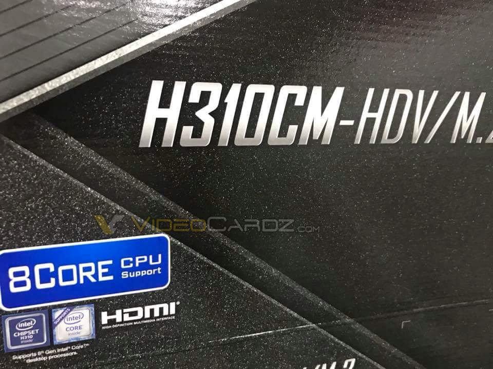 ASRock H310CM-HDV mit 8-Core-Support