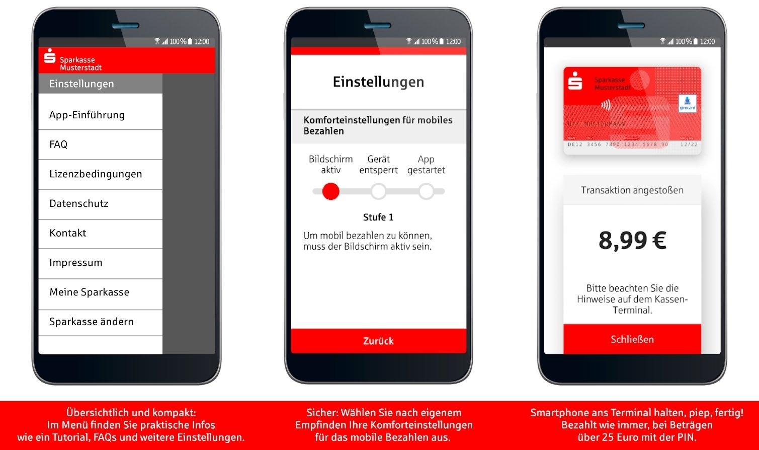 "App ""Mobiles Bezahlen"" im Überblick"