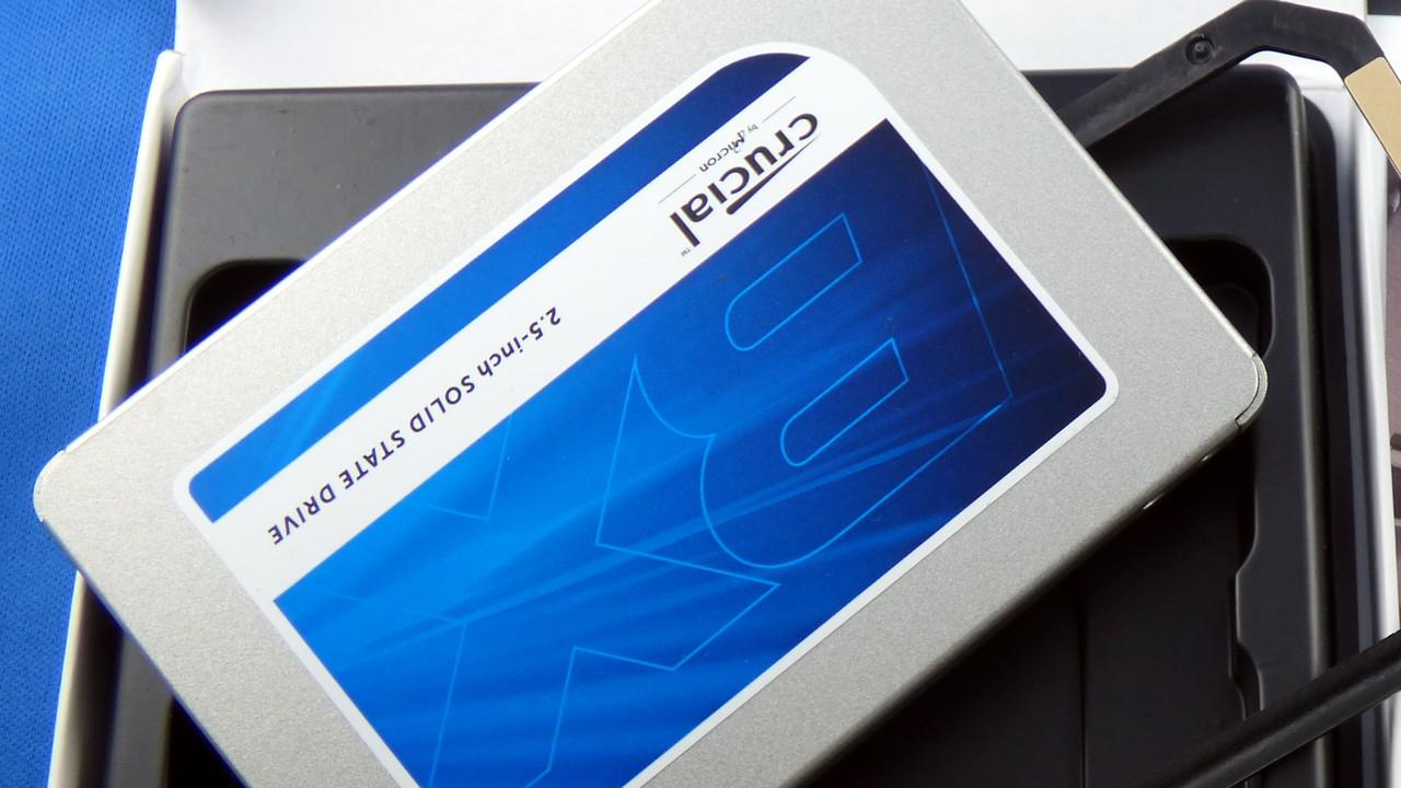 14 Cent pro GB: Crucial BX300 480 GB mit MLC-NAND für 69 Euro