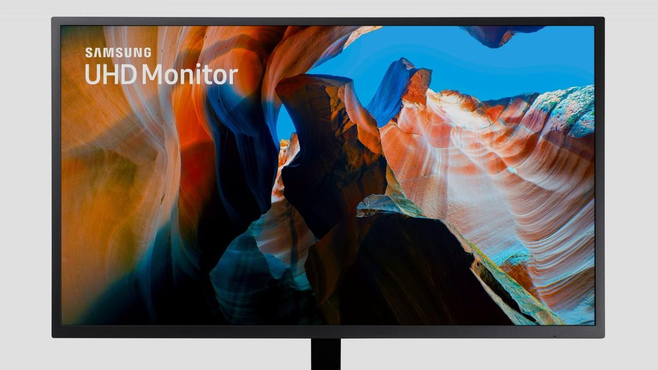 Samsung U32J590: 32 Zoll großer UHD‑Monitor zum kleinen Preis