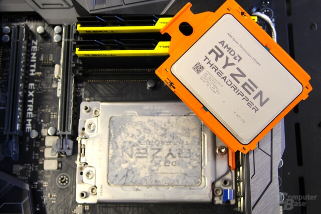 AMD Ryzen Threadripper 2000 im ComputerBase-Testsystem