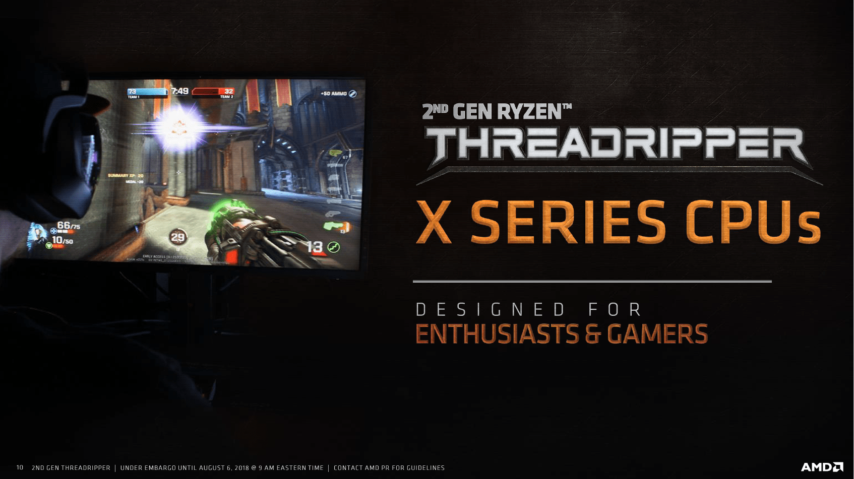 Ryzen Threadripper 2000 in der X-Serie