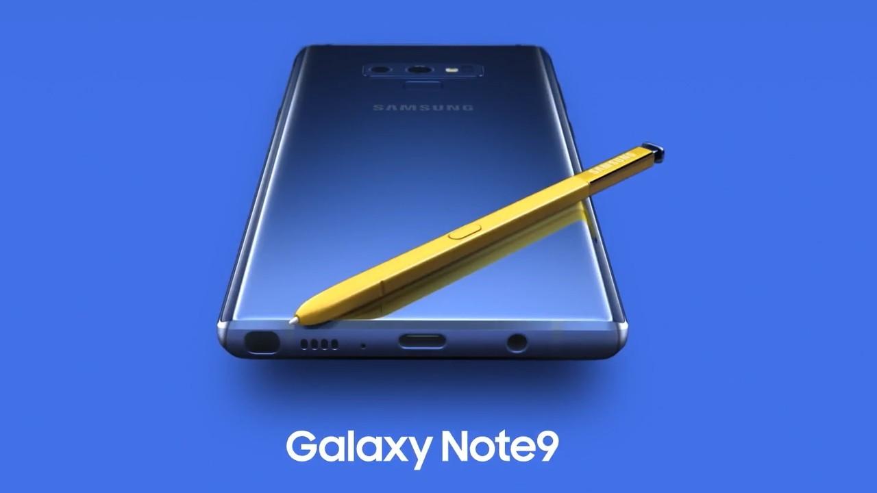 Galaxy Note 9: Samsung veröffentlicht offizielles Vorstellungsvideo