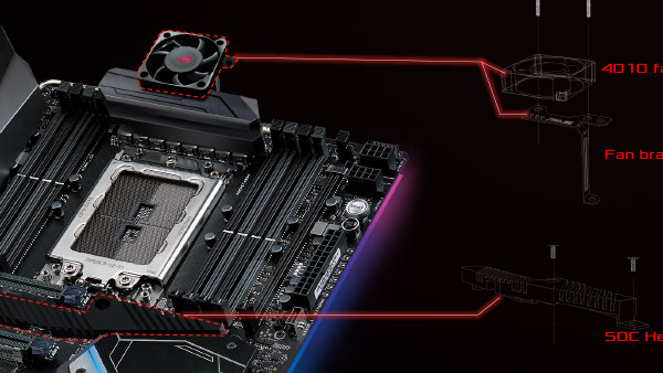 X399-Mainboards: Asus rüstet Cooling Kit für Threadripper 2000 nach