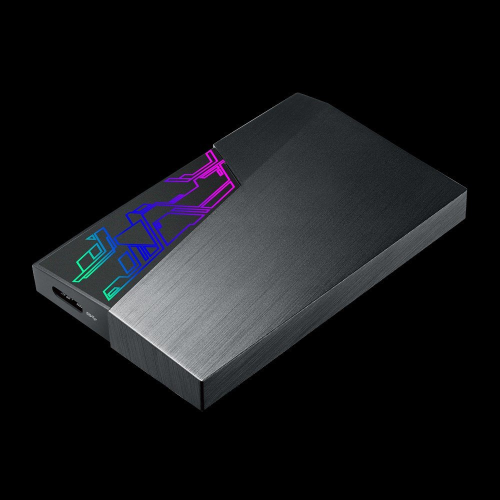 Asus FX HDD mit RGB-LEDs