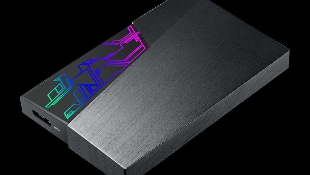 Asus FX HDD: Externe Festplatte mit RGB-Beleuchtung und Aura Sync