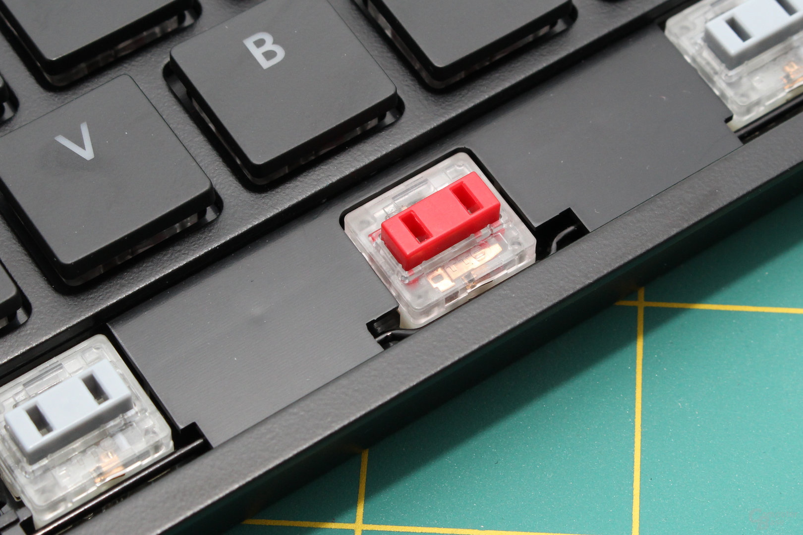Der Aufdruck verrät den Hersteller: Gefertigt wird bei TTC