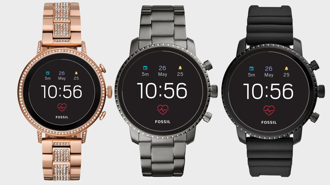 Fossil Q: 4. Smartwatch-Generation erhält GPS, HR und NFC