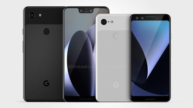 Google: Pixel 3 und Pixel 3 XL für den 4.Oktober erwartet
