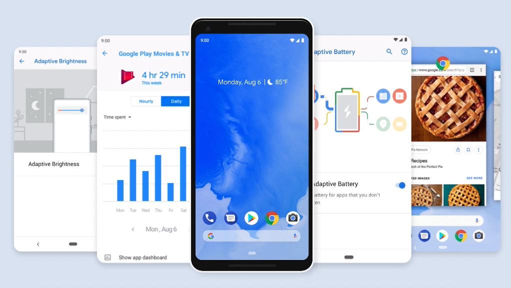 Google: Android 9 P heißt Pie und ist fertig zum Download