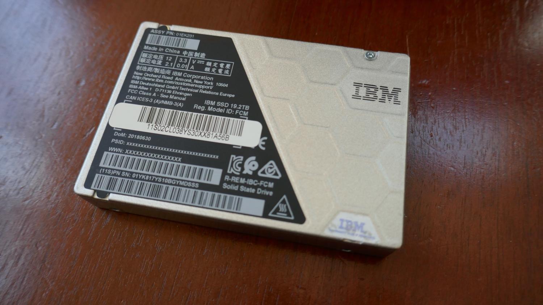 IBM FlashCore SSD mit STT-MRAM