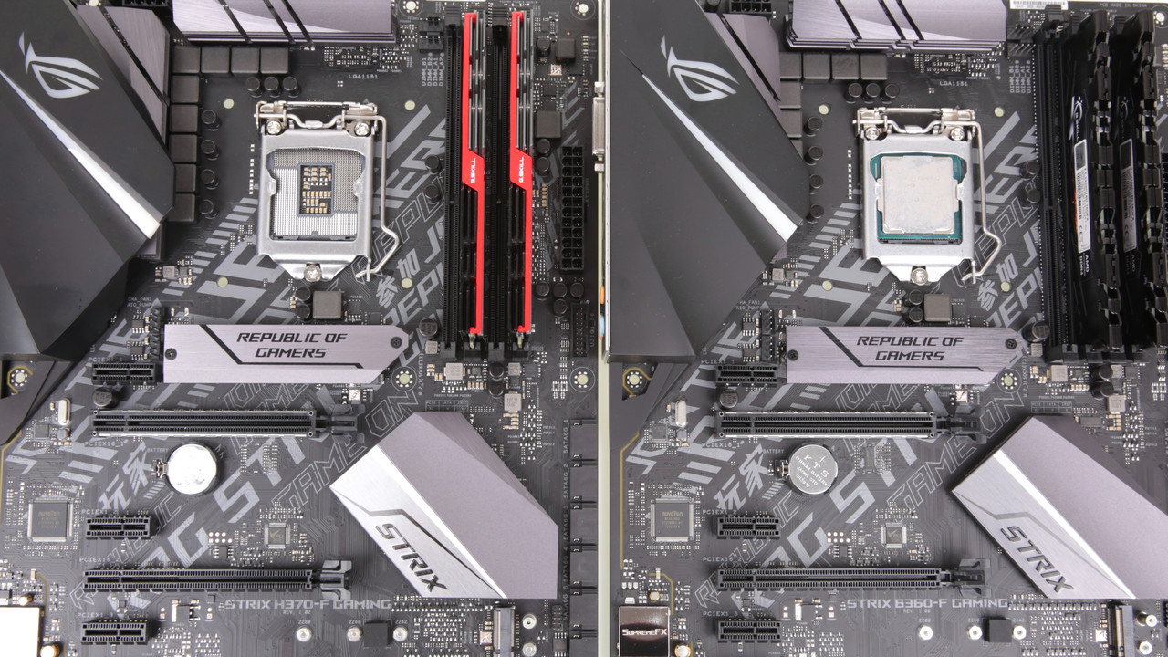Intel Core i-9000: Asus macht 64 Mainboards fit für Coffee Lake Refresh