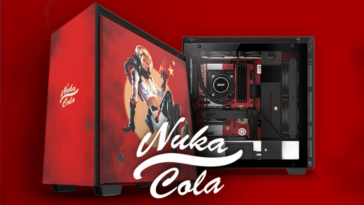 NZXT CRFT 02 Nuka-Cola: Des H700 neue Fallout-Kleider