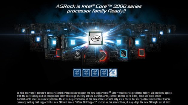 "BIOS-Update: ASRock düpiert Intel mit ""8Core CPU Support""-Werbung"