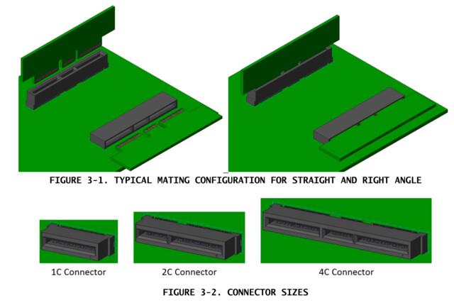 Drei Anschlussvarianten für EDSFF (E1/E3)