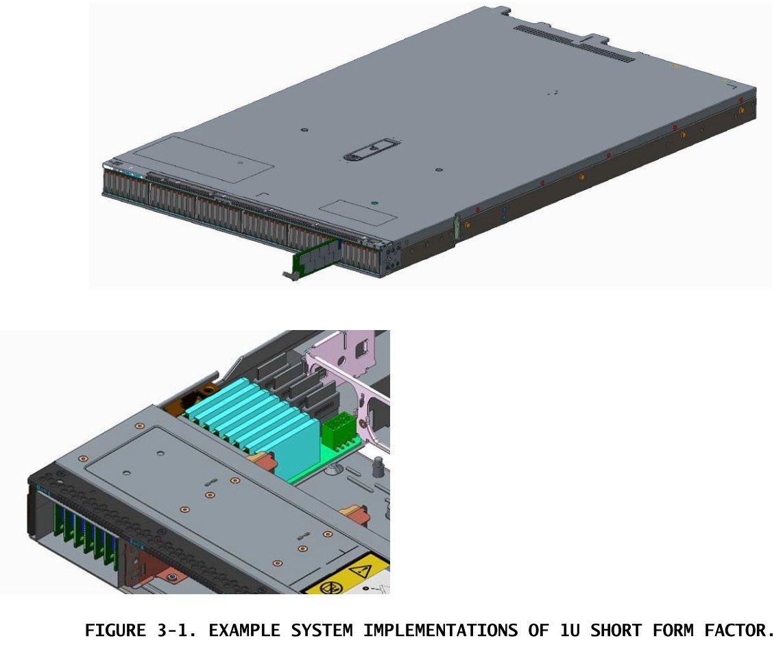 E1.S (short) im Server