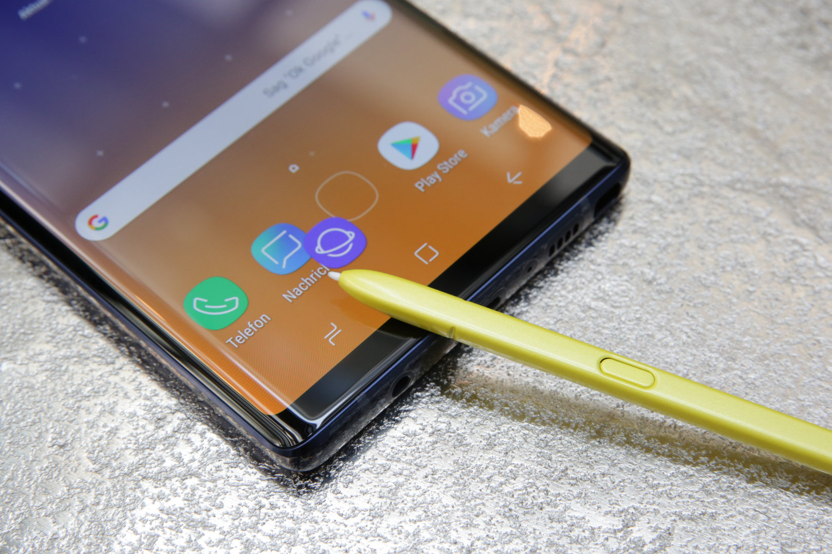 Samsung Galaxy Note 9 im Hands-On