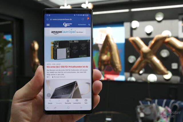 Samsung Galaxy Note 9 im Hands-On