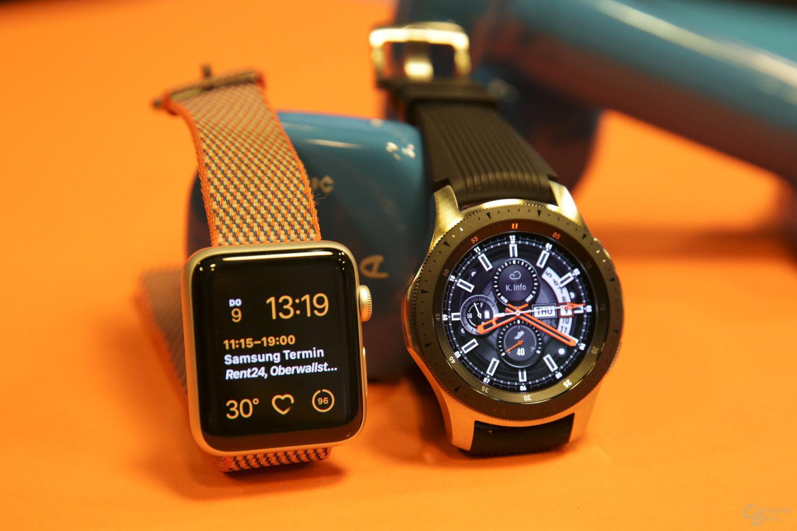 Samsung Galaxy Watch im Hands-On