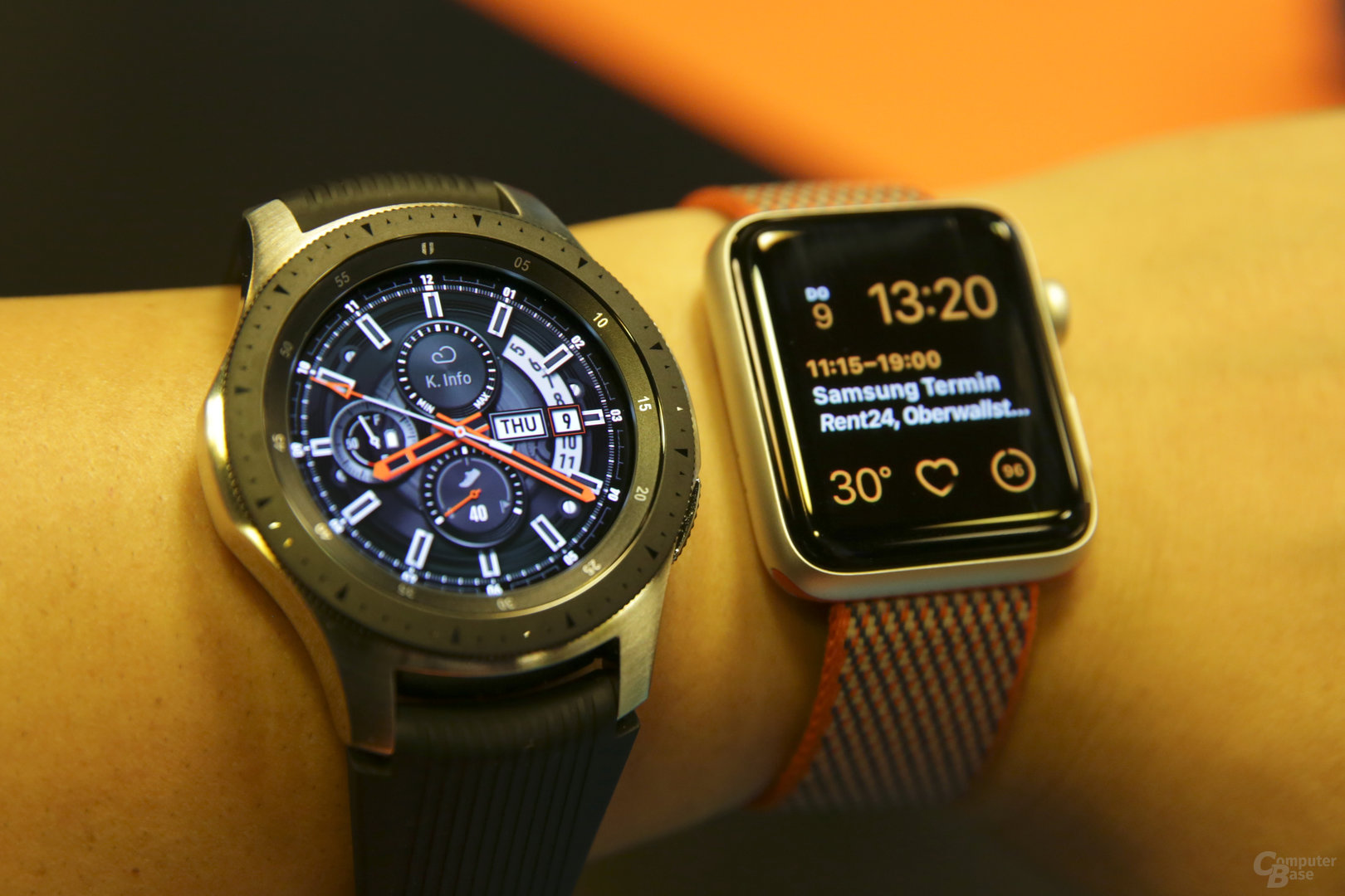 Samsung Galaxy Watch im Hands-On