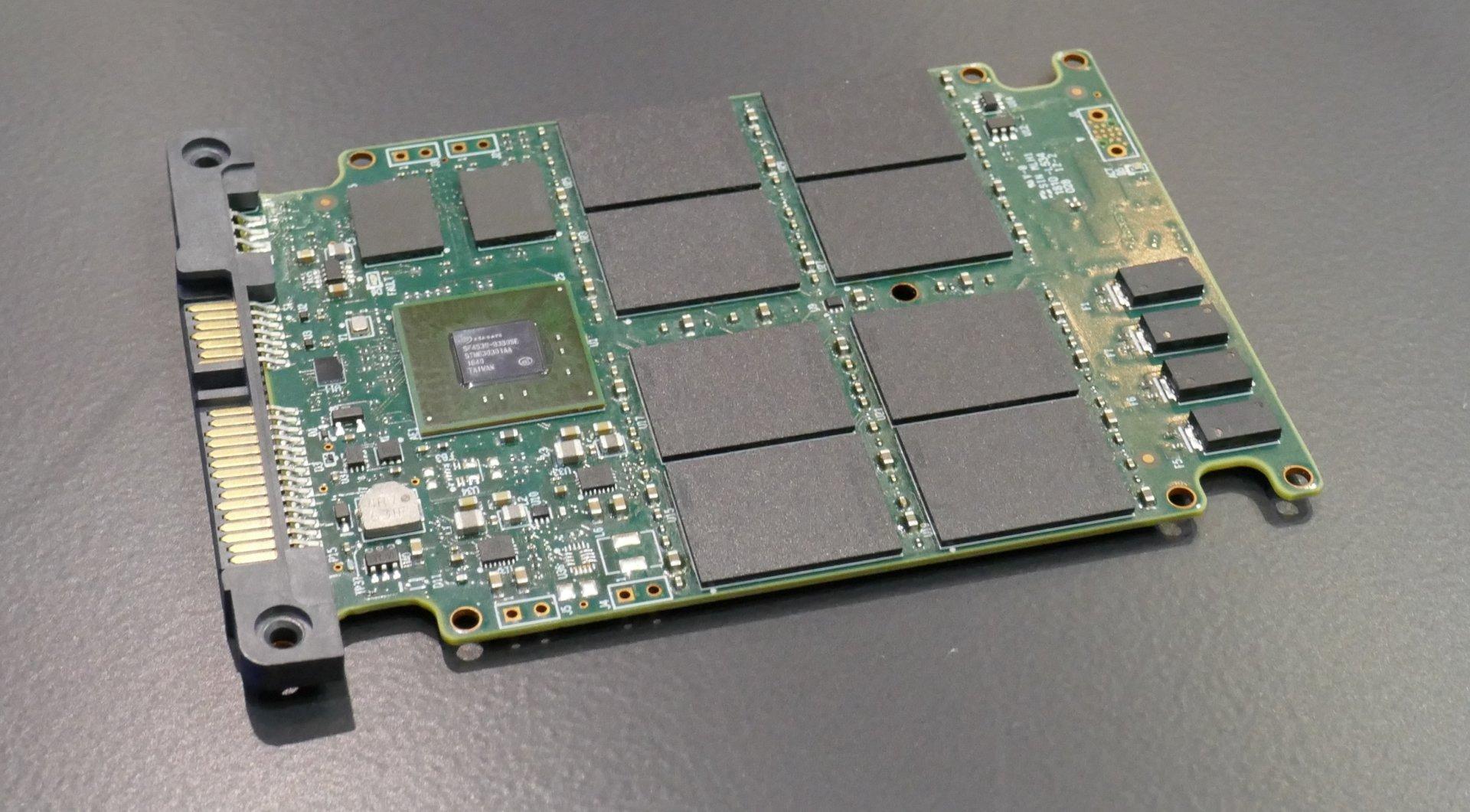 Seagate-SSD-Prototyp mit QLC-NAND