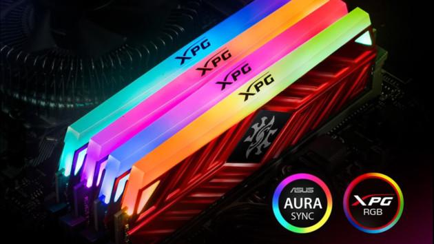 Adata XPG Spectrix D41: TUF-Gaming-Edition in Titan-Grau mit Aura-Sync