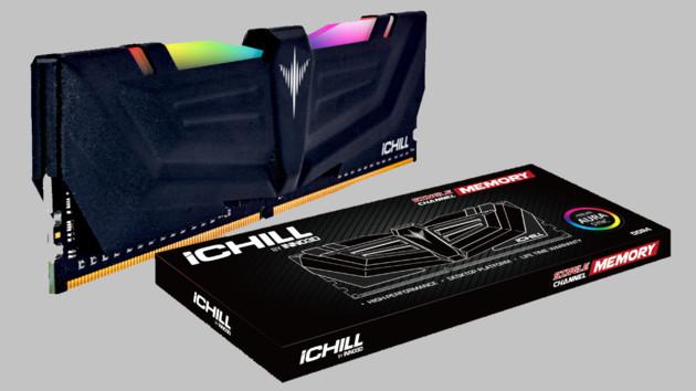 iChill Arbeitsspeicher: Inno3D zeigt erste eigene RAM-Serie – mit RGB-LEDs