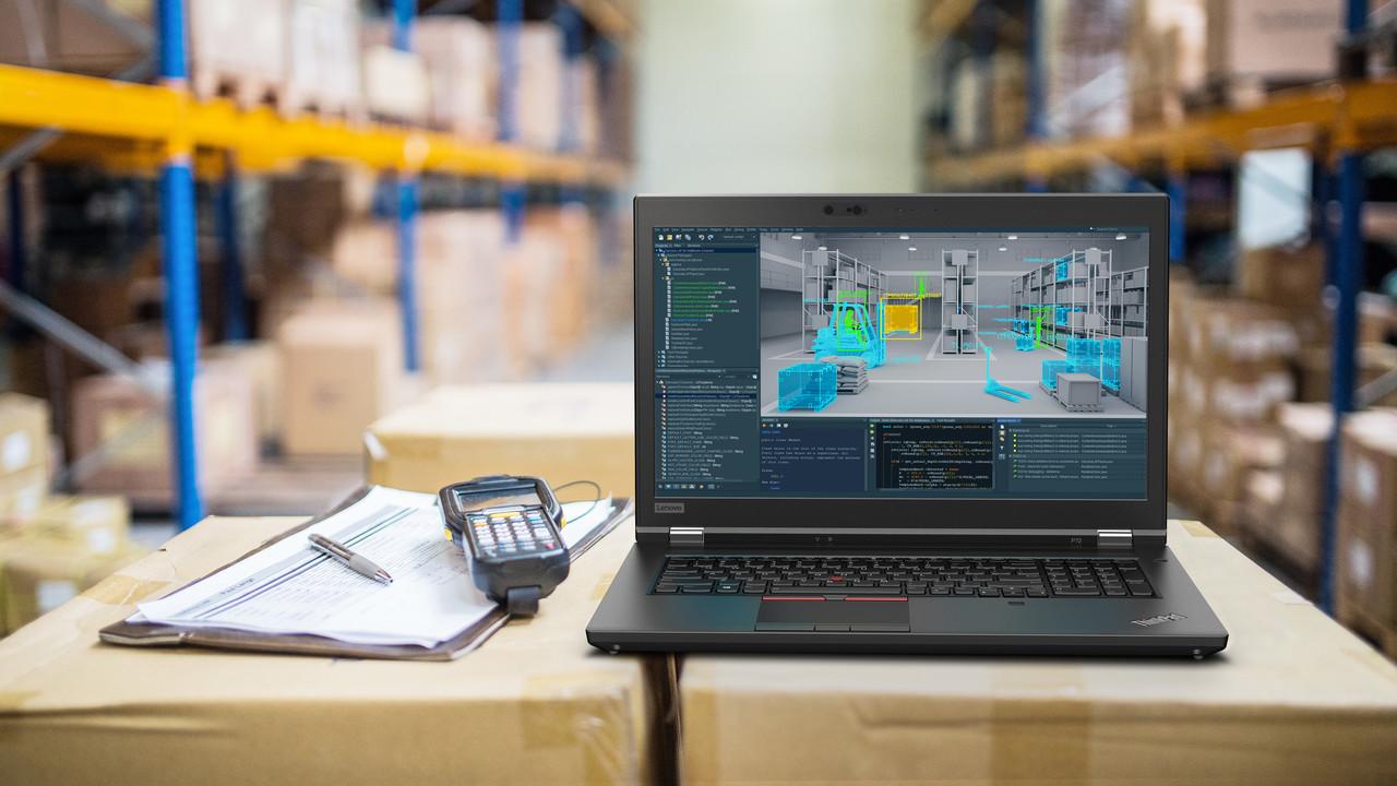 Lenovo: ThinkPad P72 mit Quadro P5200 und 128 GB RAM