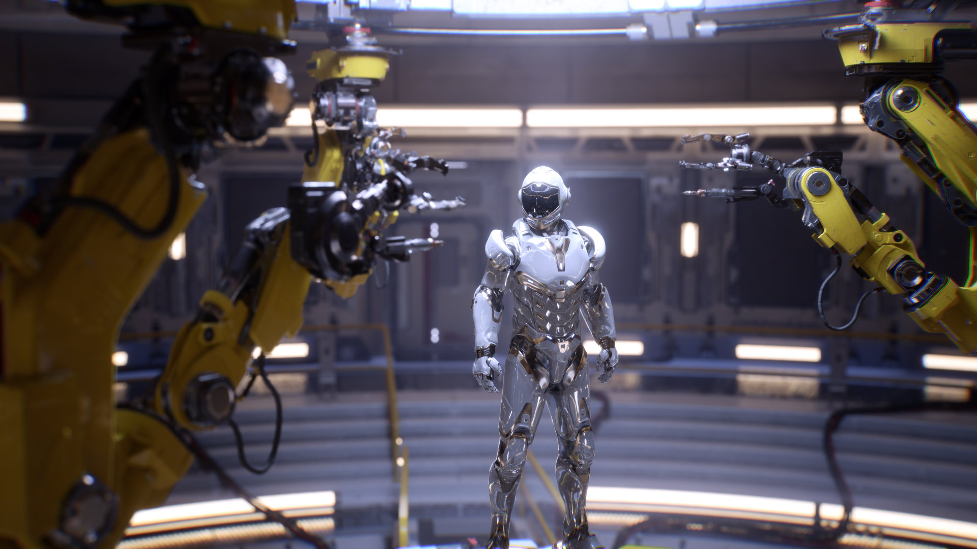 Real-Time-Raytracing auf Nvidia Turing