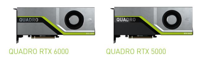 Quadro RTX 8000 und RTX 6000