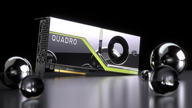 Nvidia Quadro RTX: Turing mit bis zu 16 TFLOPS und RT-Cores für Raytracing
