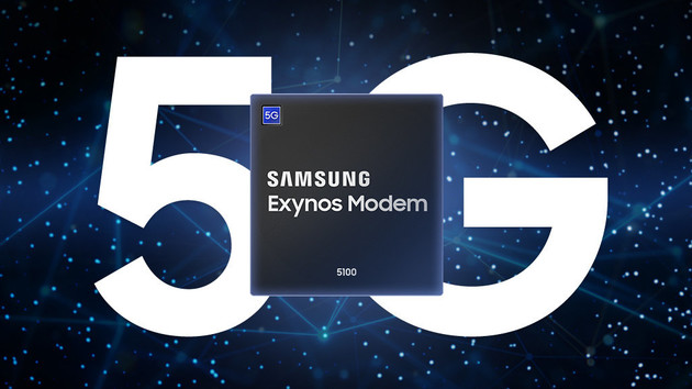Exynos Modem 5100: Samsungs All-in-One-Modem für 5G, LTE, 3G und 2G