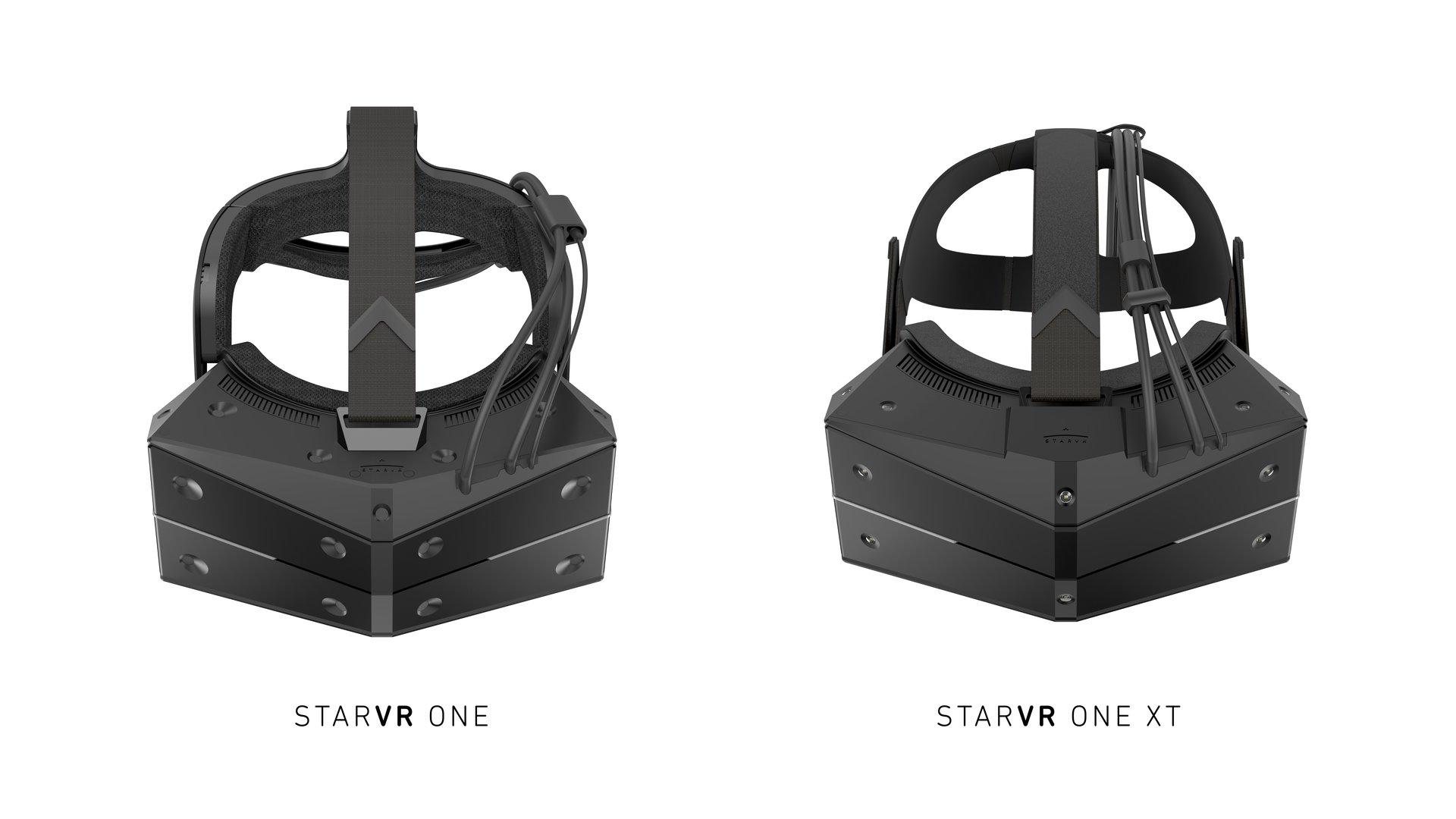Einmal für SteamVR Tracking 2.0 und einmal für kamerabasierte Systeme
