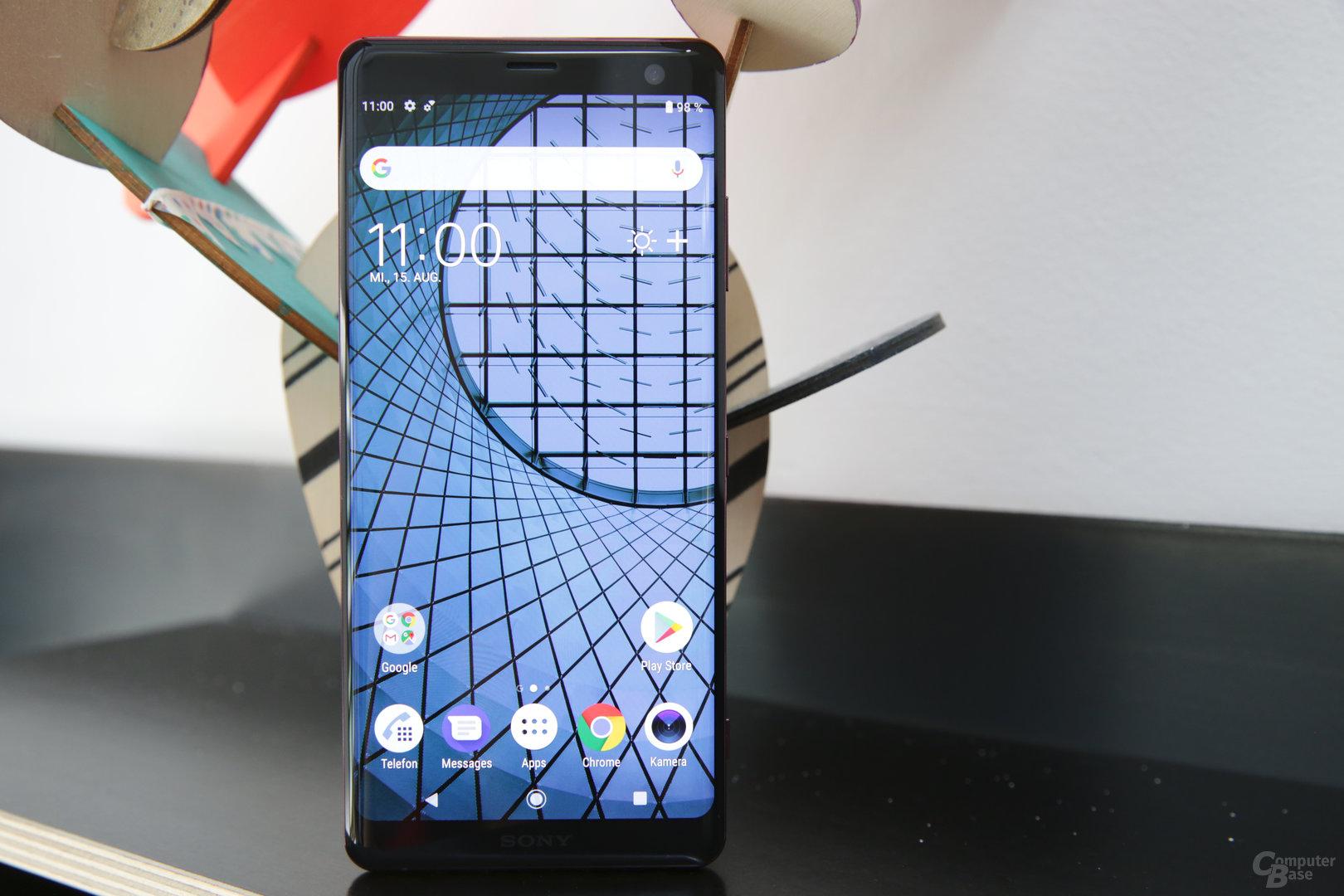 Den neuen 6-Zoll-Bildschirm steuert LG bei