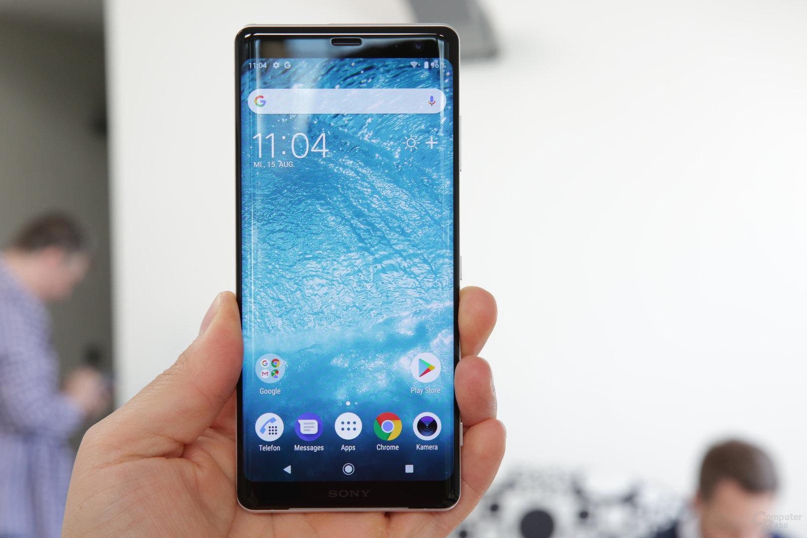 Erstes Smartphone mit OLED-Display von Sony