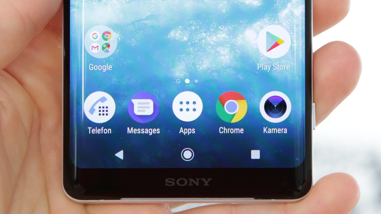 Xperia XZ3 im Hands-On: Sonys OLED-Smartphone kommt mit Android 9 Pie