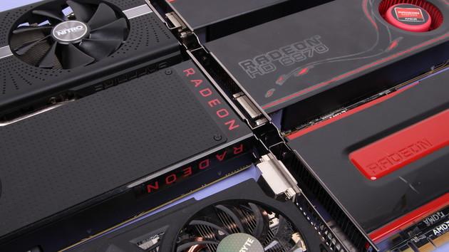 AMD-Grafikkarten im Test: Radeon 5770, 6870, 7870, 270X, 380, 480 und 580 im Vergleich