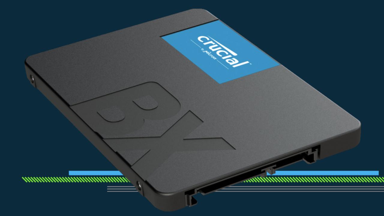 Crucial BX500: Neue Einsteiger-SSD in den Startlöchern